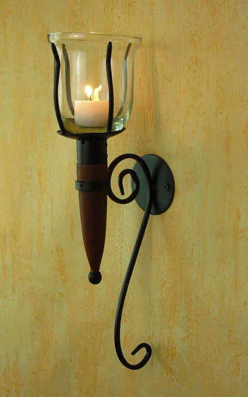 Wandkerzenhalter-fuer-Teelicht-oder-Kerzen-ausgefallen-Fuer-Innen-und-Aussen-antik