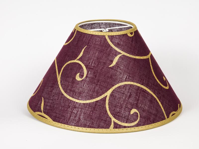 lampenschirm orientalisches design klemmschirm rund 30 cm tischlampe asiatisch ebay. Black Bedroom Furniture Sets. Home Design Ideas