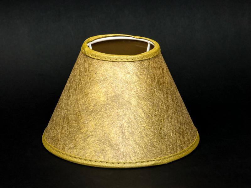 Kleine Lampenschirme Für Kronleuchter ~ Lampenschirm gold gewebe glänzend tischleuchte kronleuchter