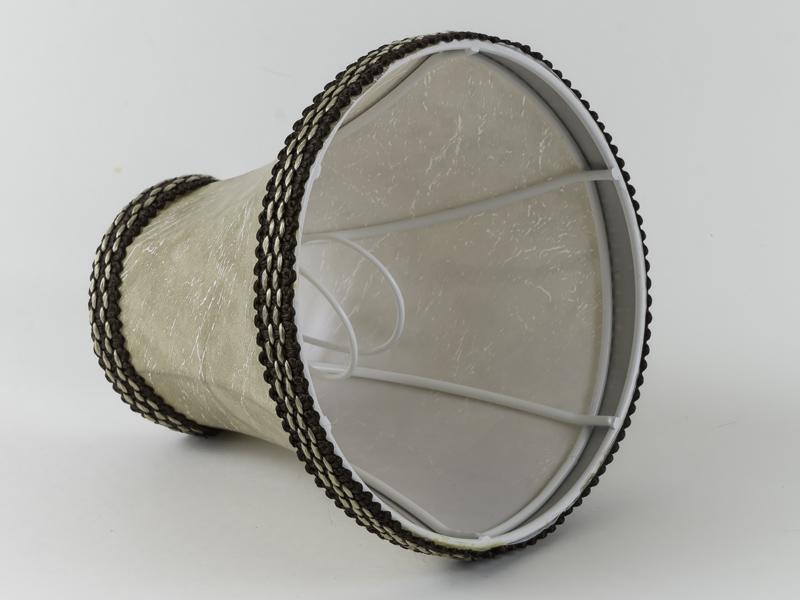 aufsteck lampenschirm klassisch nachttischlampe kronleuchter e 14 pagode 1 ebay. Black Bedroom Furniture Sets. Home Design Ideas